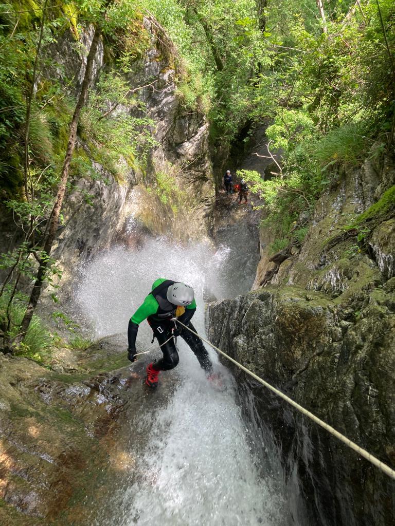 rio maggiore Canyoning Toscana
