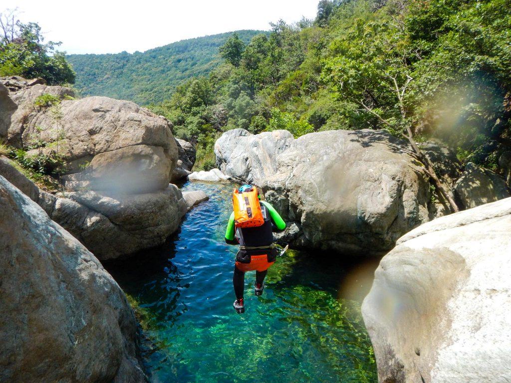 Rio prima lunga canyoning Liguria